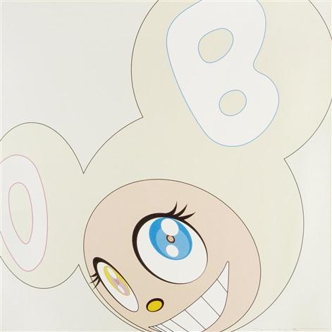 white dob by takashi murakami
