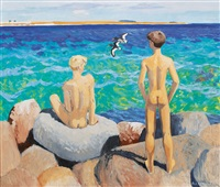 boys on the beach by karl adser