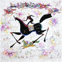 horse by li zhongliang