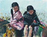 sioux children by dee toscano