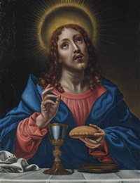 christ blessing the sacraments by carlo dolci