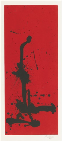 red sea iii by robert motherwell