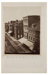 views of old philadelphia collected by joseph y. jeanes (manuscript title, album of early photographs of philadelphia) by joseph jeanes