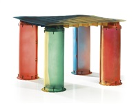 nobody's perfect' table by gaetano pesce