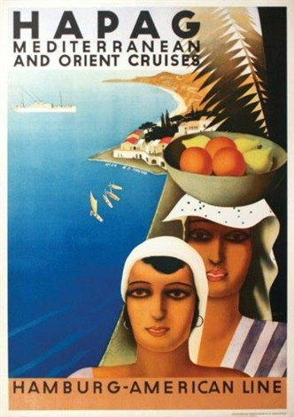 hapag méditerranean cruises by otto arpke