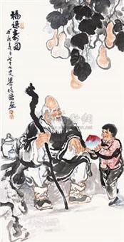 福禄寿图 by liang peihao