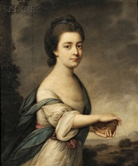 emma vernon, 1st marchioness of exeter by francis cotes