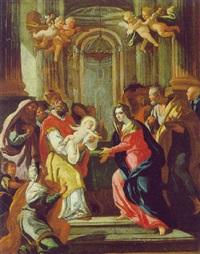 die darstellung im tempel by bartholomäus altomonte