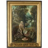 the penitent saint jerome by joachim patinir
