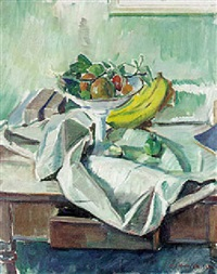 nature morte by knud ove hilkier
