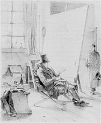 schattensetten der düsseldorfer maler nebst verkürzen ansichten ihrer letzten leistungen by heinrich (henry) ritter