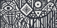black and white animal by richard pousette-dart