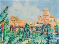 jardins des oudayas, rabat by eugène bernhardt