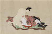 emakimono (12 works) by anonymous-japanese (edo period)