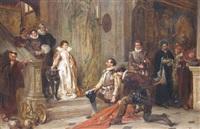 the victors of lepanto by robert alexander hillingford