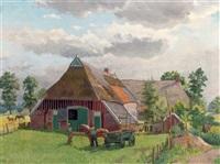 a farmyard by henk melgers