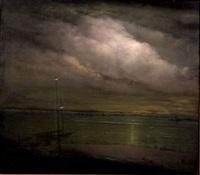night shore, long island by leon dabo