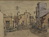 district six, street scene i by gregoire johannes boonzaier