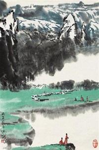 春雨图 by xu xi