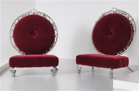 Pair Of Sutra Thrones Chairs By Mark Brazier Jones