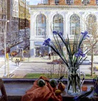 city view looking out window by james emmet nastasia