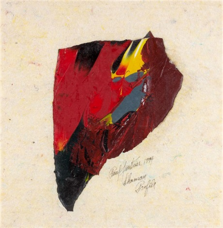 Chaman profile by Paul Jenkins on artnet