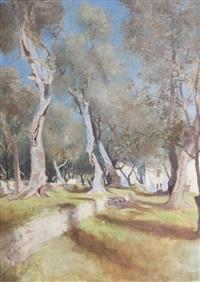 sous les oliviers by jules gachet