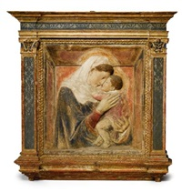 the madonna and child by donatello