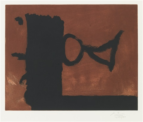 the razors edge by robert motherwell