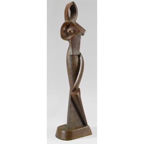 geometric statuette by alexander archipenko