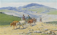 caucasian caravan by richard karlovich zommer