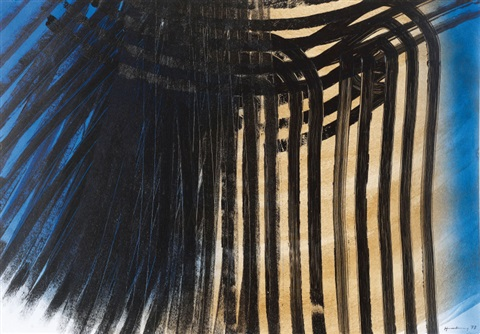 p 1973 z62 by hans hartung