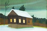 winter nocturno by jaroslav valecka