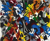 komposition a by ernst wilhelm nay
