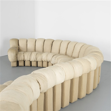 Ds 600 Organic Sofa Set Of 25 By Eleanora Peduzzi Riva Heinz