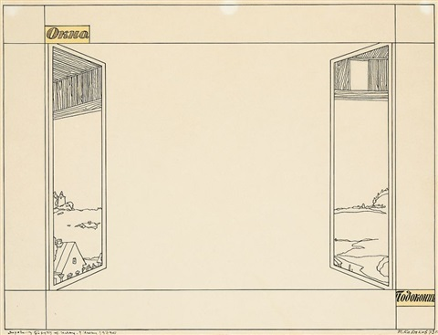 fenster by ilya kabakov