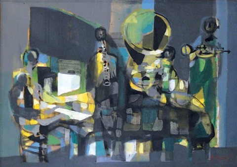 les musiciens by marcel mouly