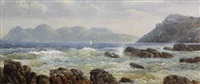 simon's bay from kalkbay (sic) by abraham de smidt