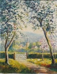 la cote d'azur (+ printemps normand; 2 works) by andre couchet