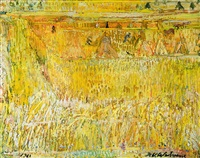 le blé by henri victor wolvens