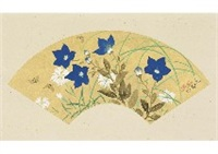 autumn flower, japanese long-tailed fowl (2 works) by juppo araki