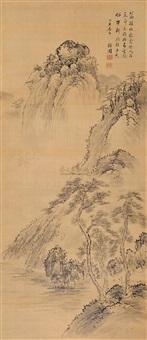 林壑清幽 (landscape) by jiang dalai