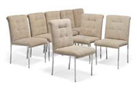 dining chairs (set of 8) by pierre cardin
