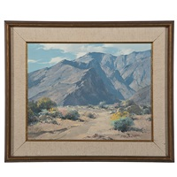 tahquitz canyon landscape by karl albert