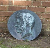 portrait roundel by victor adams