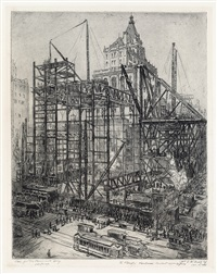 steel for the paramount building by william c. mcnulty