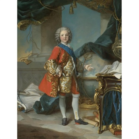 louis dauphin de france by louis tocqué