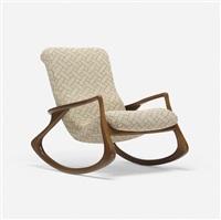sculpted rocking chair by vladimir kagan