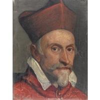 ritratto di cardinale by domenico tintoretto