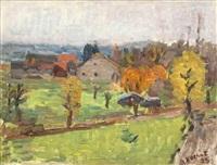vue de village by alexandre rochat
